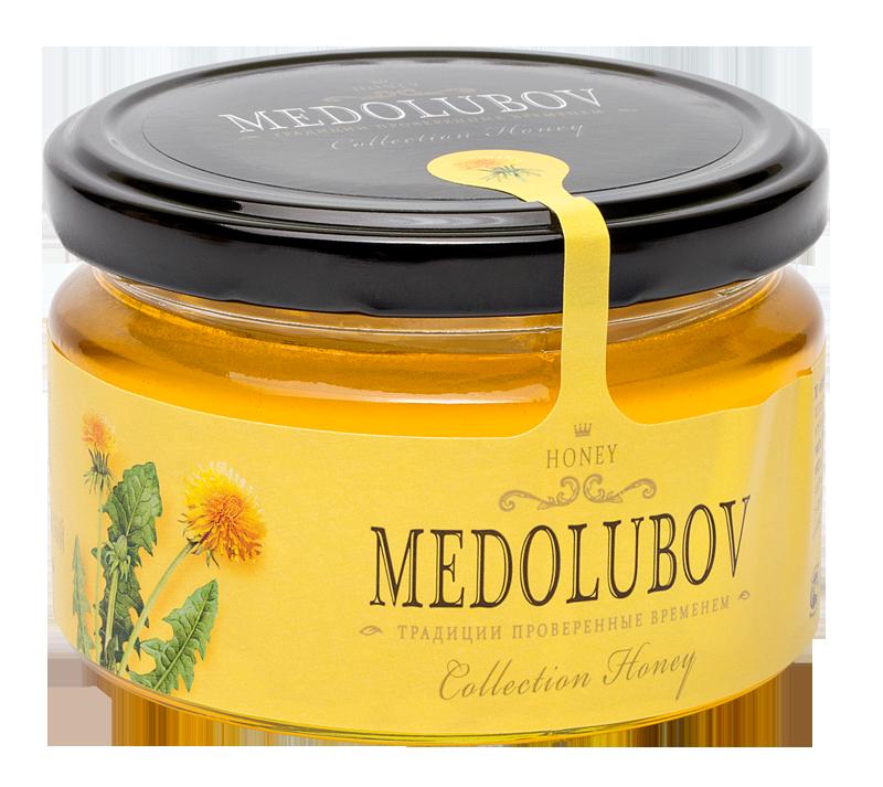 Мёд Медолюбов одуванчиковый