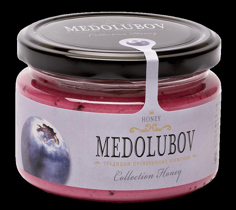 Крем-мёд Медолюбов счерникой
