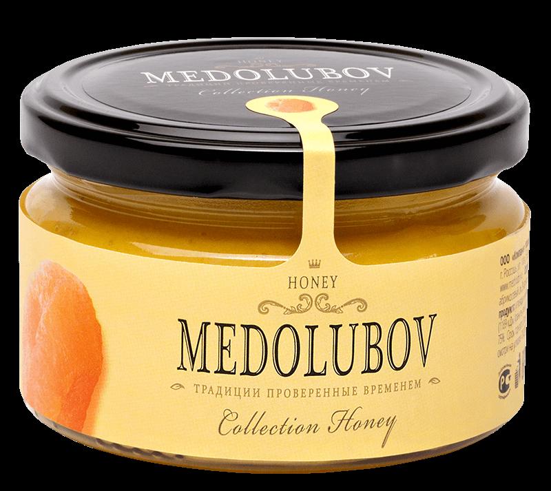 Крем-мёд Медолюбов скурагой