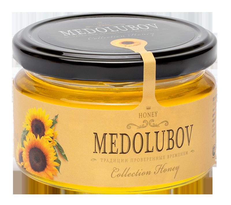Мёд Медолюбов подсолнечниковый