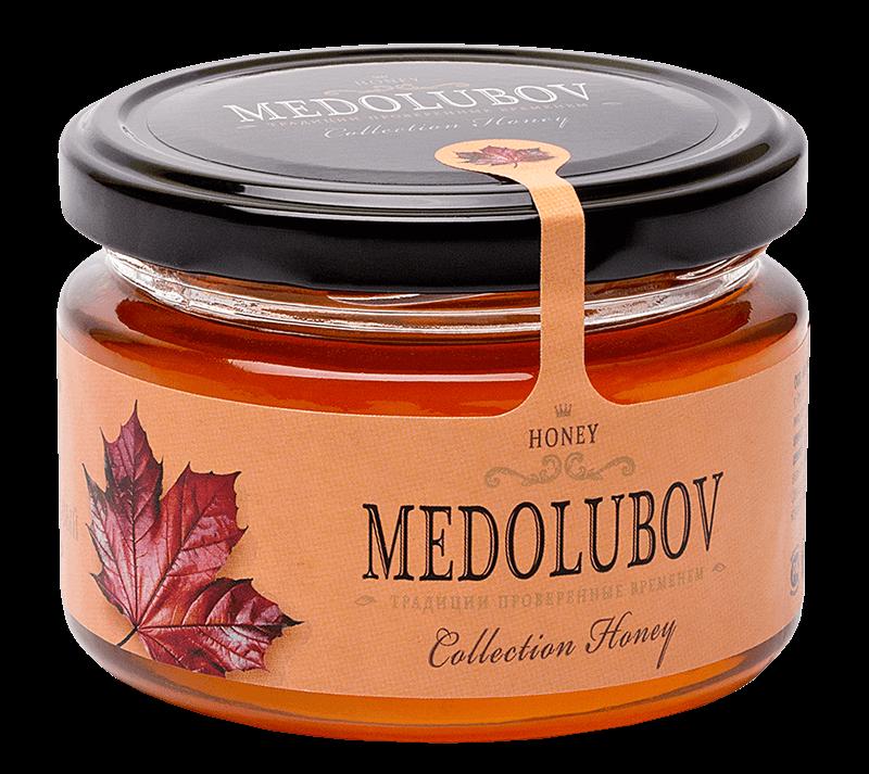 Мёд  Медолюбов чернокленовый