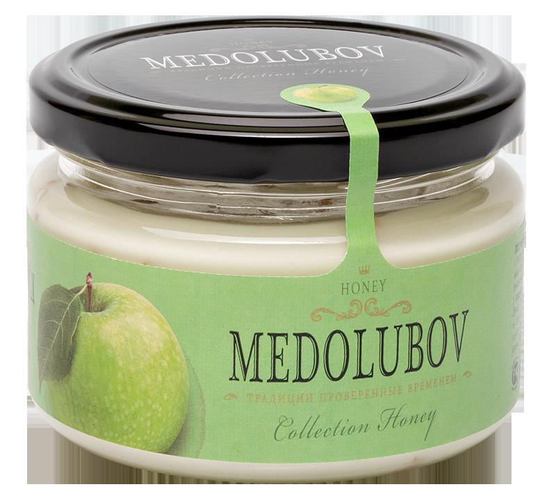 Крем-мёд Медолюбов сяблоком