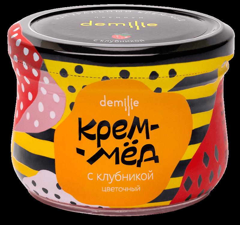 Крем-мёд Демилье склубникой